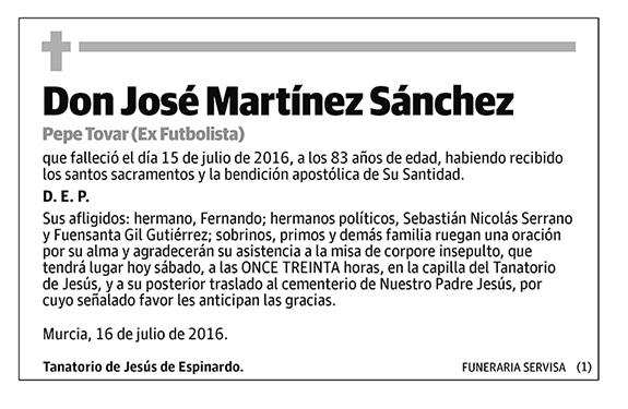 José Martínez Sánchez