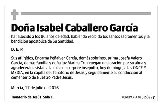Isabel Caballero García