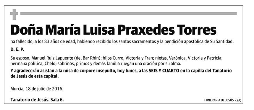 María Luisa Praxedes Torres