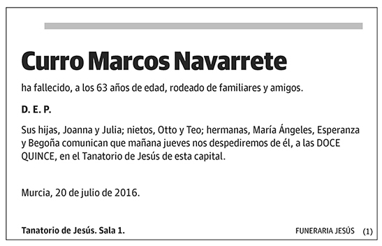 Curro Marcos Navarrete