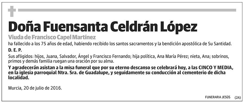 Fuensanta Celdán López