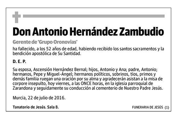 Antonio Hernández Zambudio