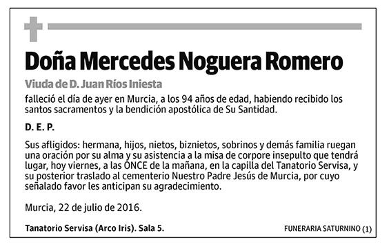 Mercedes Noguera Romero