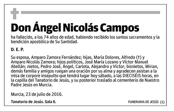 Ángel Nicolás Campos
