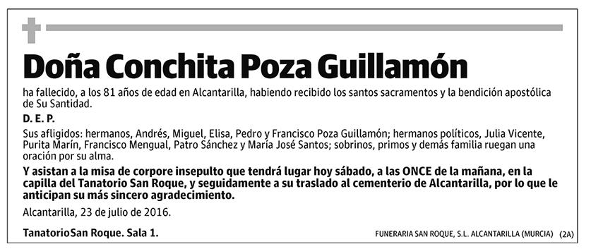 Conchita Poza Guillamón