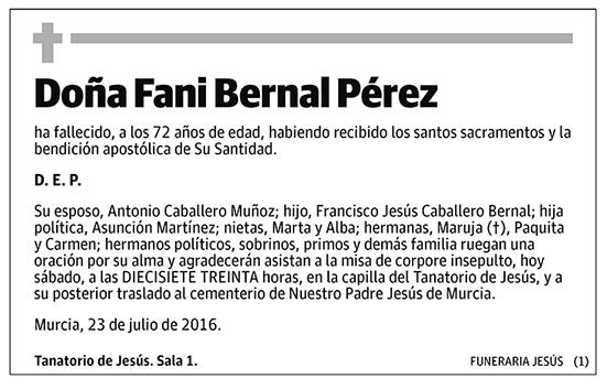 Fani Bernal Pérez