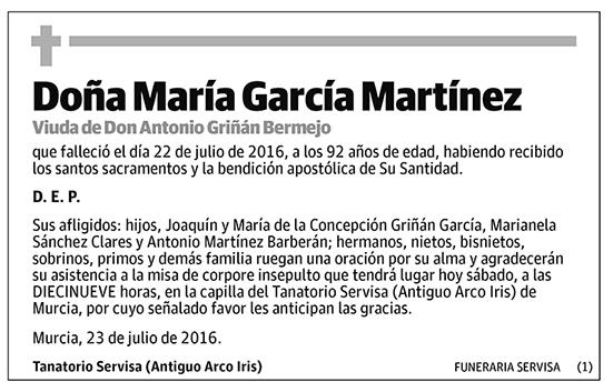 María García Martínez