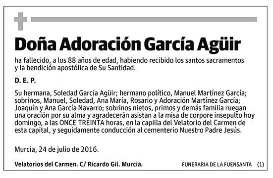 Adoración García Agüir