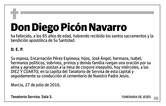 Diego Picón Navarro