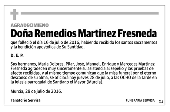 Remedios Martínez Fresneda