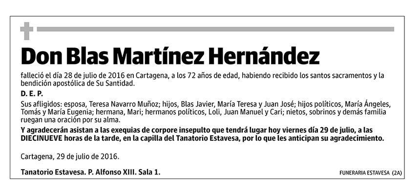 Blas Martínez Hernández