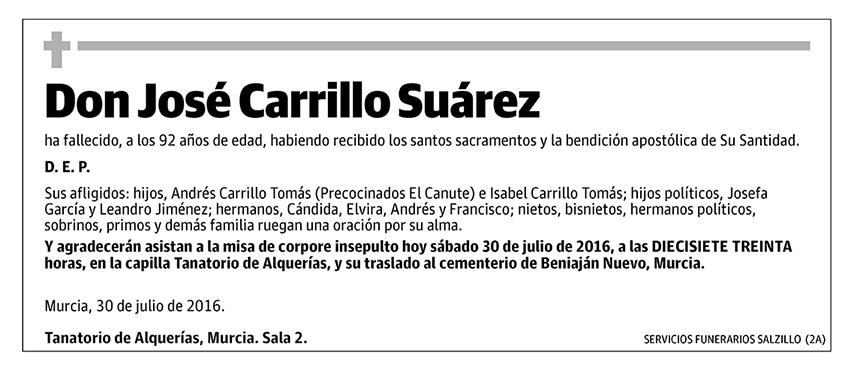 José Carrillo Súarez