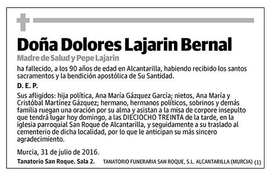 Dolores Lajarin Bernal