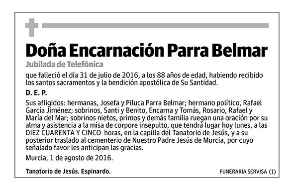 Encarnación Parra Belmar