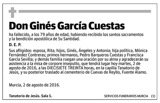 Ginés García Cuestas