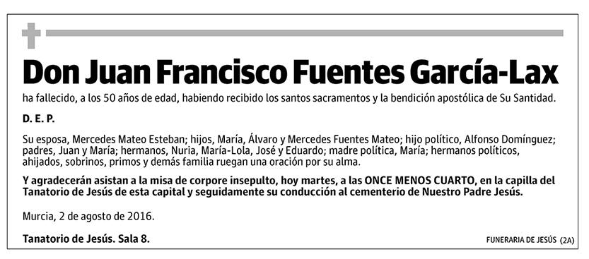 Juan Francisco Fuentes García-Lax