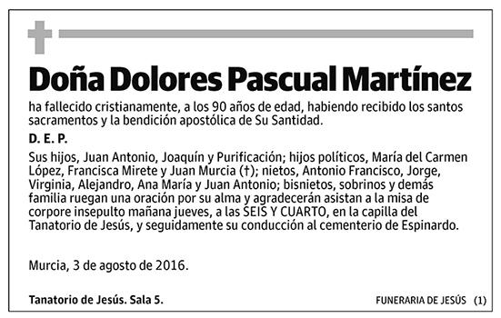 Dolores Pascual Martínez