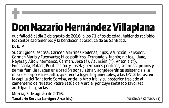 Nazario Hernández Villaplana