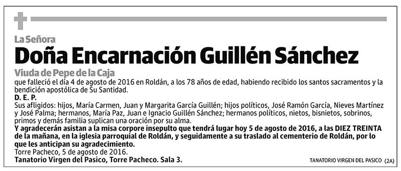 Encarnación Guillén Sánchez
