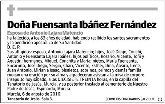 Fuensanta Ibáñez Fernández