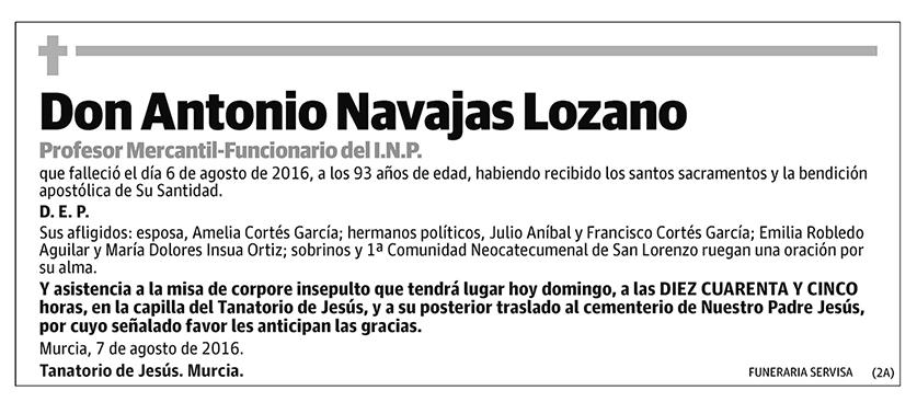 Antonio Navajas Lozano