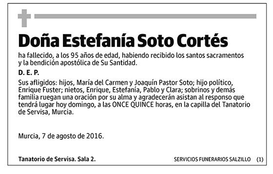 Estefanía Soto Cortés