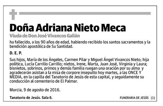 Adriana Nieto Meca