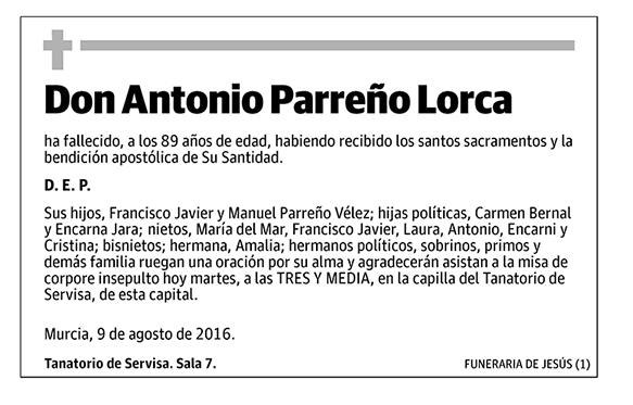 Antonio Parreño Lorca
