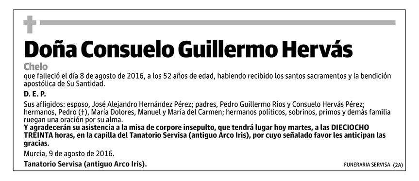 Consuelo Guillermo Hervás