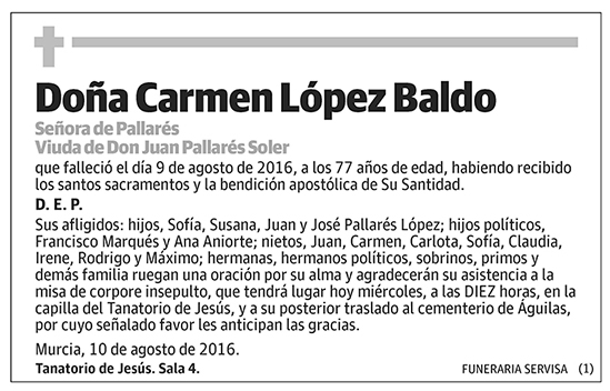 Carmen López Baldo