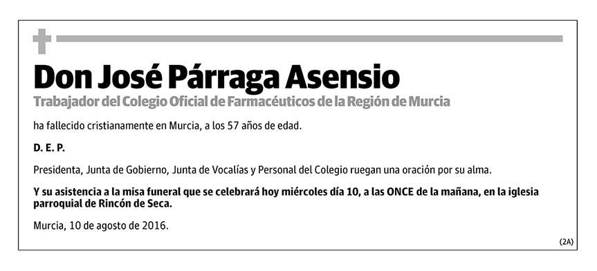 José Párraga Asensio