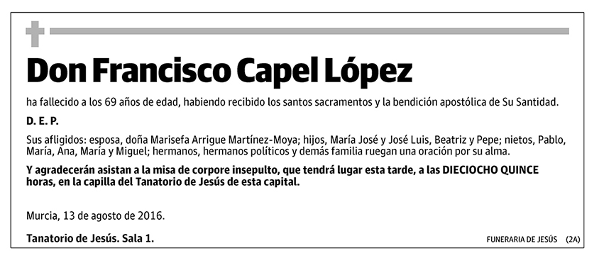 Francisco Capel López