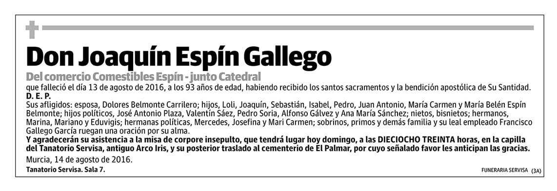 Joaquín Espín Gallego