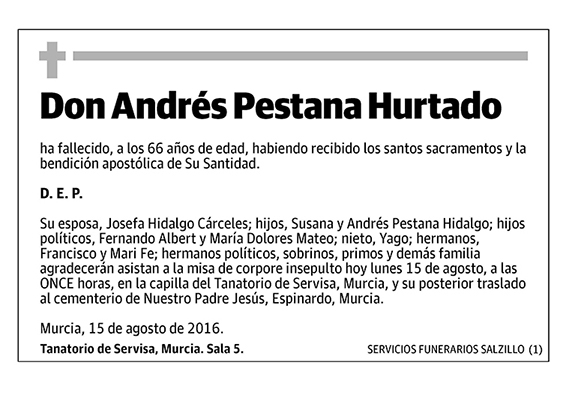 Andrés Pestana Hurtado