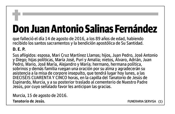 Juan Antonio Salinas Fernández