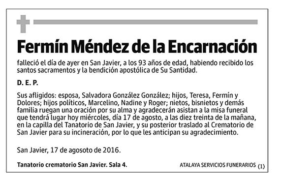 Fermín Méndez de la Encarnación