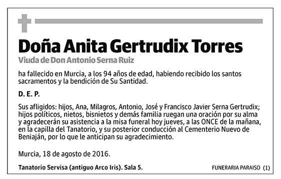 Anita Gertrudix Torres