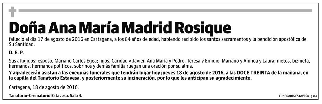 Ana María Madrid Rosique