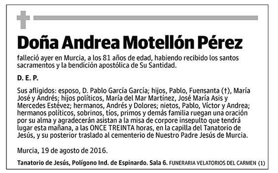 Andrea Motellón Pérez