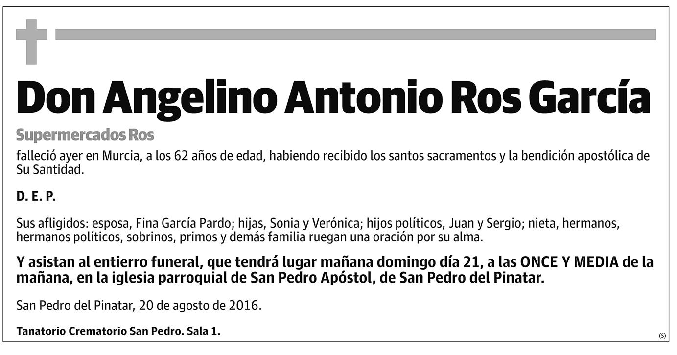 Angelino Antonio Ros García