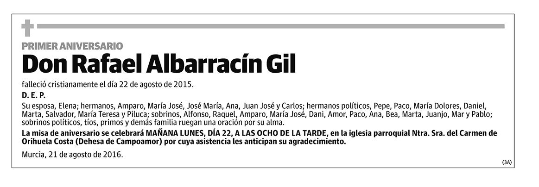 Rafael Albarracín Gil