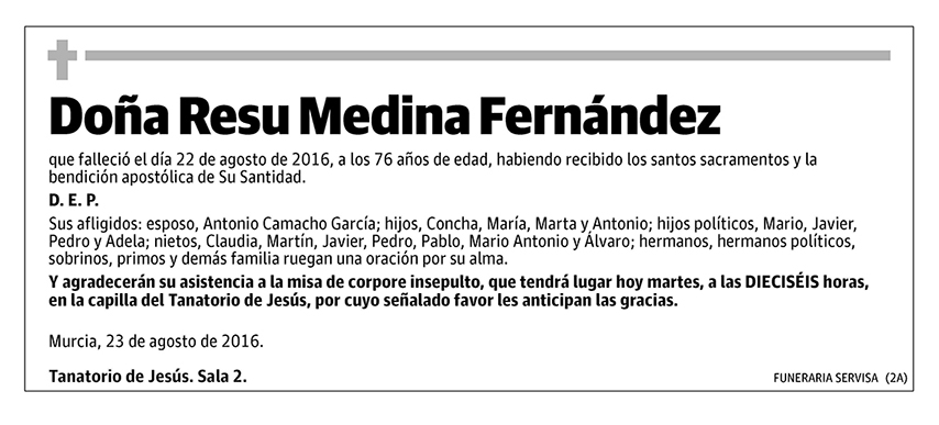 Resu Medina Fernández