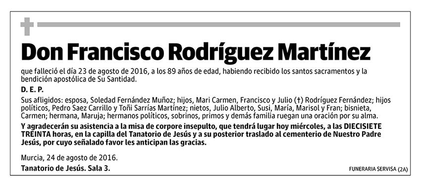 Francisco Rodríguez Martínez