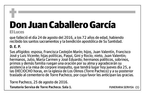 Juan Caballero García