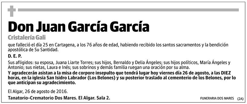 Juan García García