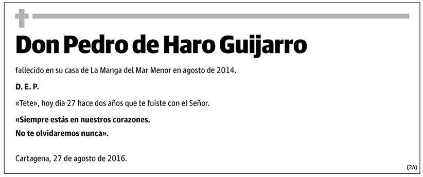 Pedro de Haro Guijarro