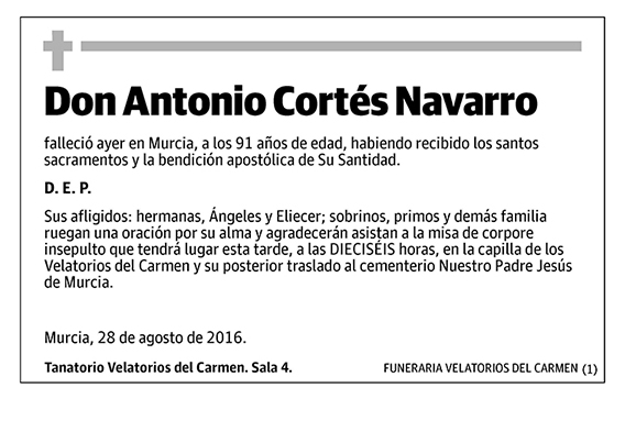 Antonio Cortés Navarro