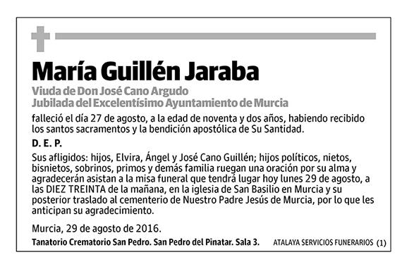 María Guillén Jaraba