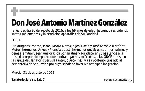 José Antonio Martínez González