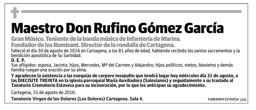 Rufino Gómez García